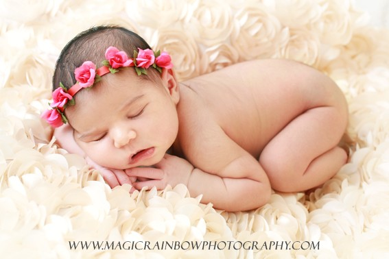 Anne Geddes style baby photography in london