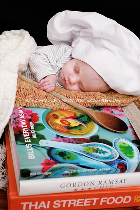 contemporary baby photography