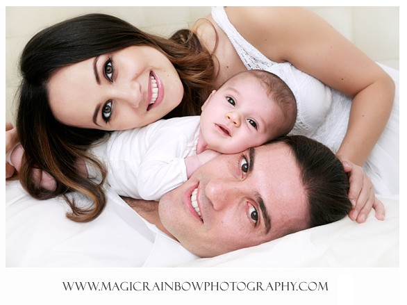 Family portrait photo shoot in London