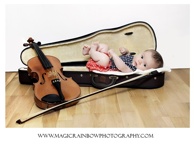 creative baby photography in London