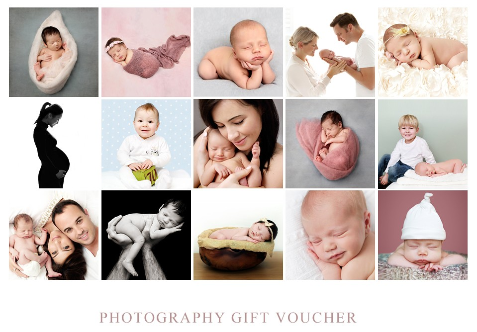 buy baby photography gift voucher london