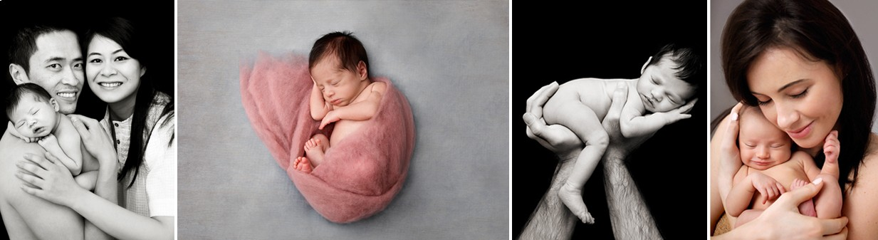 book a newborn baby photo shoot London